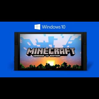 Minecraft: Windows 10 Edition Key