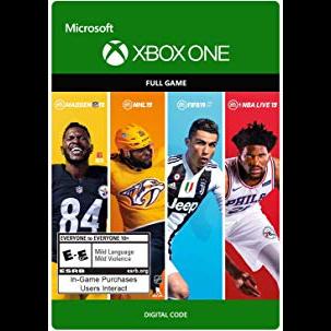 EA SPORTS 19 Bundle Xbox One USA Discount!!!