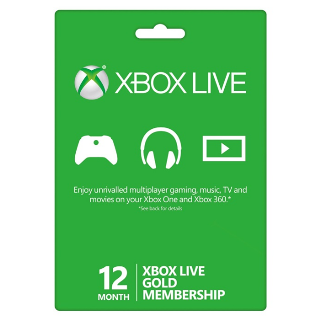 Xbox Live Gold 12 Month Subscription  This item needs to