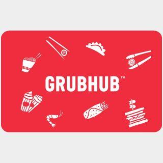 $75.00 GrubHub