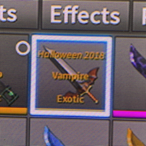 Collectibles | holloween 2018 vampire exotic assassin