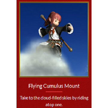 [ Europe ] Final Fantasy XIV [In-game item] DLC Code - Flying cumulus Mount  [EU] FFXIV (Auto Deliver     - Gameflip