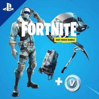 Fortnite Deep Freeze Bundle PSN PS4 US Region