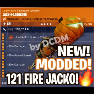 Jack O Launcher | MODDED 121 🔥 JackO