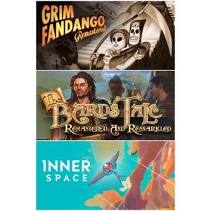 Grim Fandango + The Bards Tale + Inner Space
