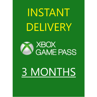 [PC ONLY] XBOX GAME PASS 3 MONTHS (3x1) [AUTO DELIVERY]
