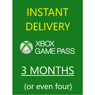 [PC] Xbox Game Pass 3x1 Months (or even four)