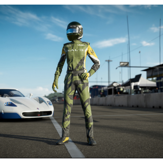 Forza Motorsport 7 Halo Driver Gear [INSTANT DELIVERY]