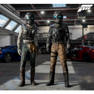 Forza Motorsport 7 Gears of War Driver Gear [INSTANT DELIVERY]