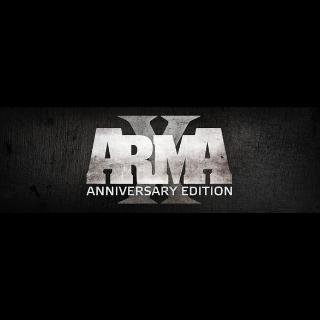 Arma X: Anniversary Edition - Steam