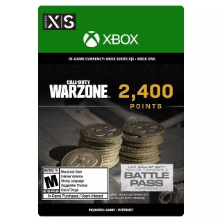 Call of Duty: Warzone, Modern Warfare, Cold War 2,400 Points (Xbox Series X|S/Xbox One)