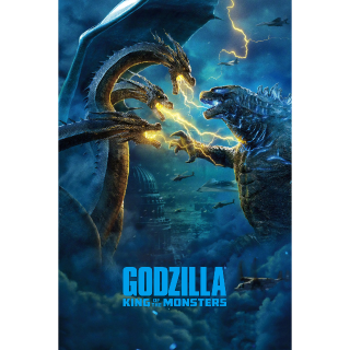 Godzilla: King of the Monsters HD MA [instant delivery]
