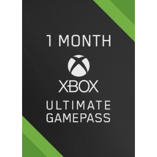1 Month Xbox Game Pass Ultimate Global ( INSTANT DELIVERY)