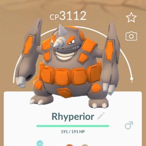 Bundle   Rhyperior   Pokemon Go