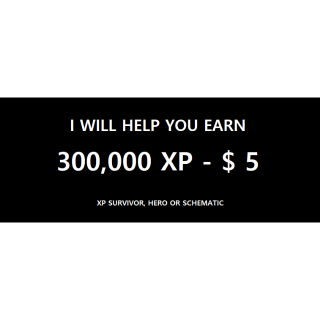 I will help you and your friend get Survivor xp, Hero xp, Schematic xp in the 100 level Twine missions.