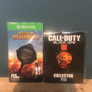 Playerunknown's & Call of Duty Gaming Pins