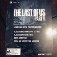 The Last of Us Part II Collector's Edition Digital Content Only