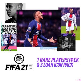 FIFA 21 - 1 Rare Player Pack & 3 Loan Icon Pack