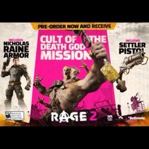 Rage 2 Pre-order Bonus Content