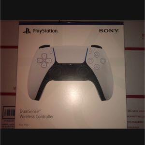 Sony DualSense Wireless Controller - White (PlayStation 5