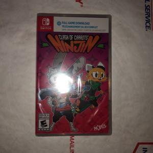 Ninjin: Clash of Carrots - Nintendo Switch