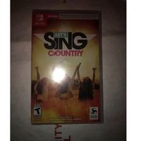 Lets Sing Country - Nintendo Switch