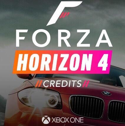Forza Horizon 4 Credits 20 mill