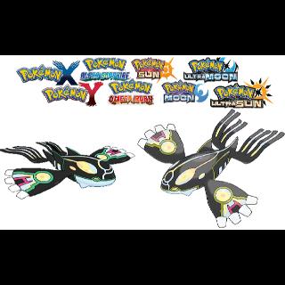Shiny 6IV PRIMAL Kyogre! Battle-Ready! Pokemon Sun & Moon Nintendo 3DS