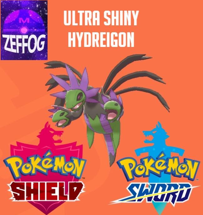 HYDREIGON | ULTRA SHINY 6IV BATTLE-READY!