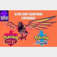 GMAX CORVIKNIGHT | ULTRA SHINY 6IV