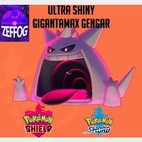 GMAX GENGAR   ULTRA SHINY 6IV!