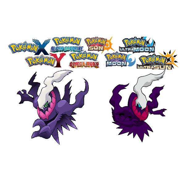 Shiny 6IV Darkrai Battle-Ready! Pokemon ULTRA Sun