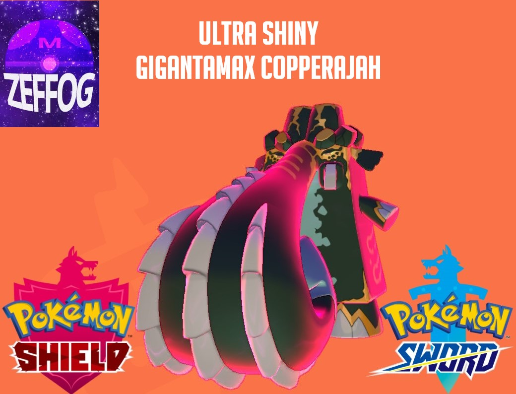 COPPERAJAH | ULTRA SHINY GIGANTAMAX 6IV