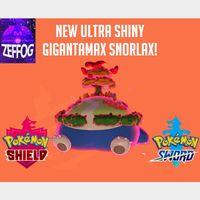 GMAX SNORLAX | ULTRA SHINY 6IV