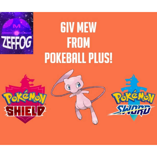 MEW FOR SWORD AND SHIELD 6IV!
