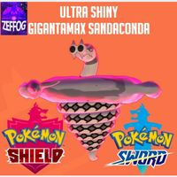 GMAX SANDACONDA   ULTRA SHINY 6IV