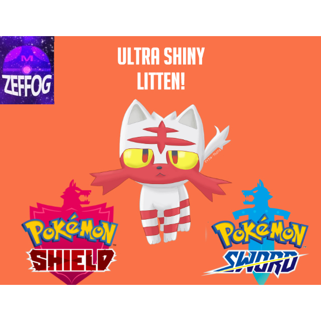 LITTEN | ULTRA SHINY 6IV BATTLE-READY!