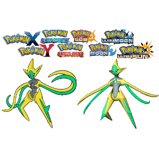 Shiny 6IV Deoxys Attack Battle-Ready! Pokemon Sun & Moon Nintendo 3DS