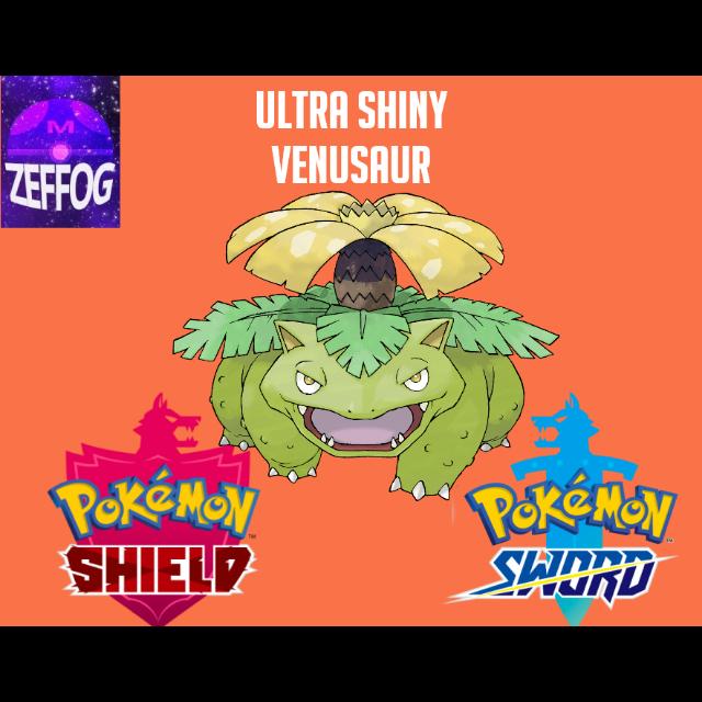 VENUSAUR | ULTRA SHINY 6IV BATTLE-READY!
