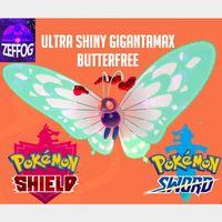 GMAX BUTTERFREE | ULTRA SHINY 6IV!