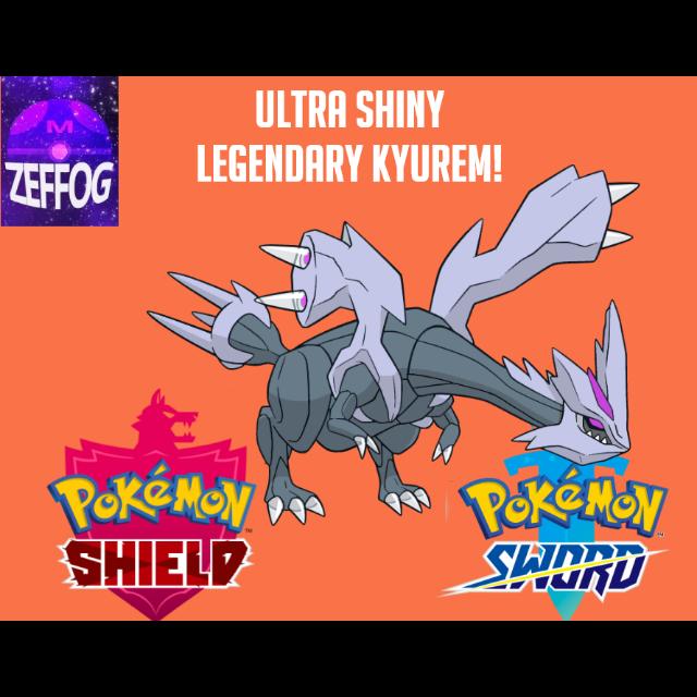 KYUREM | ULTRA SHINY 6IV BATTLE-READY!