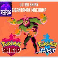 GMAX MACHAMP | ULTRA SHINY 6IV