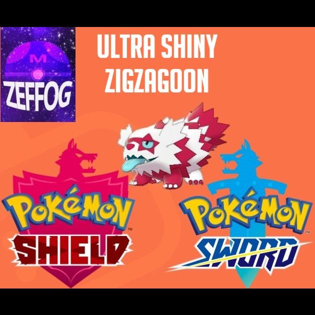Shiny Galarian Zigzagoon / It evolves into linoone starting at level 20.