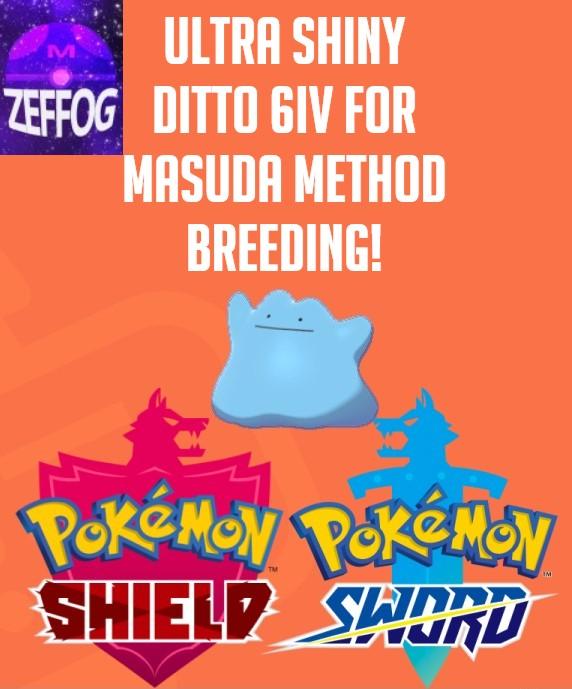 DITTO SHINY KOREAN 6IV! MASUDA BREEDING!