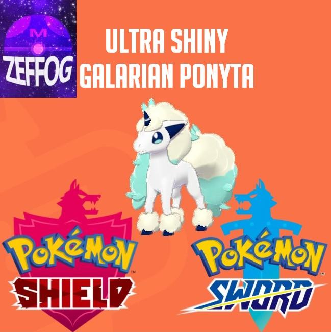 GALARIAN PONYTA | ULTRA SHINY 6IV BATTLE-READY!