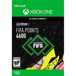 FIFA 20 4600  Xbox One ( instant delivery)