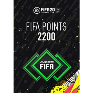 FIFA 20 2200 Ultimate Team Points PS4 (instant delivery)