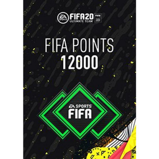 FIFA 20 12000 Ultimate Team Points Xbox One ( Instant Delivery )