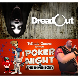 DreadOut + poker night at the inventory