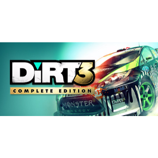 DiRT 3 COMPLETE EDITION (PC/Steam) *Fast Delivery* Steam Key - 𝐹𝑢𝑙𝑙 𝐺𝑎𝑚𝑒